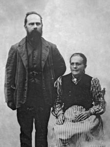 Christoffer Örn och Anna-Lisa Persdotter