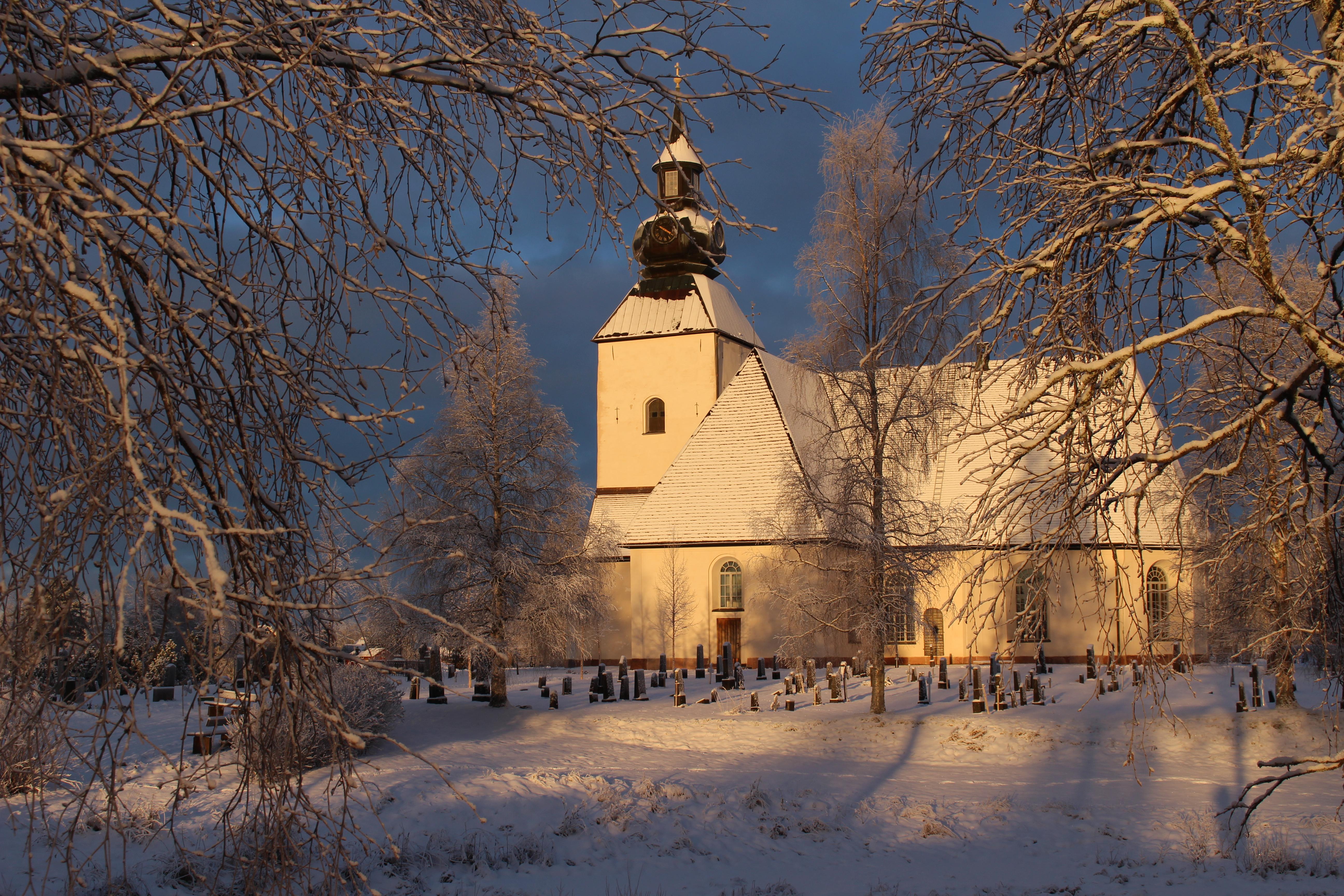 Malungs kyrka byggd 1365